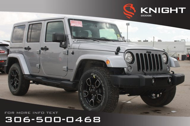 New 2018 Jeep Wrangler JK Unlimited Altitude *Advertised Special* |  Navigation | Remote Start | Max Tow Package | with Navigation & 4WD