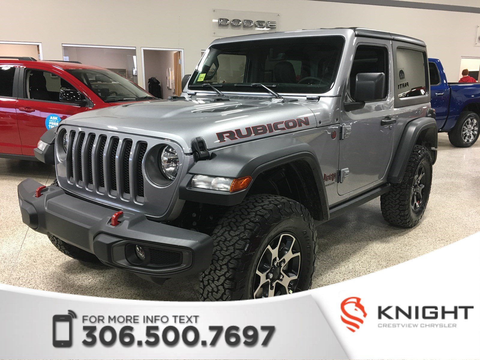 New 2018 Jeep Wrangler Rubicon Turbo Navigation