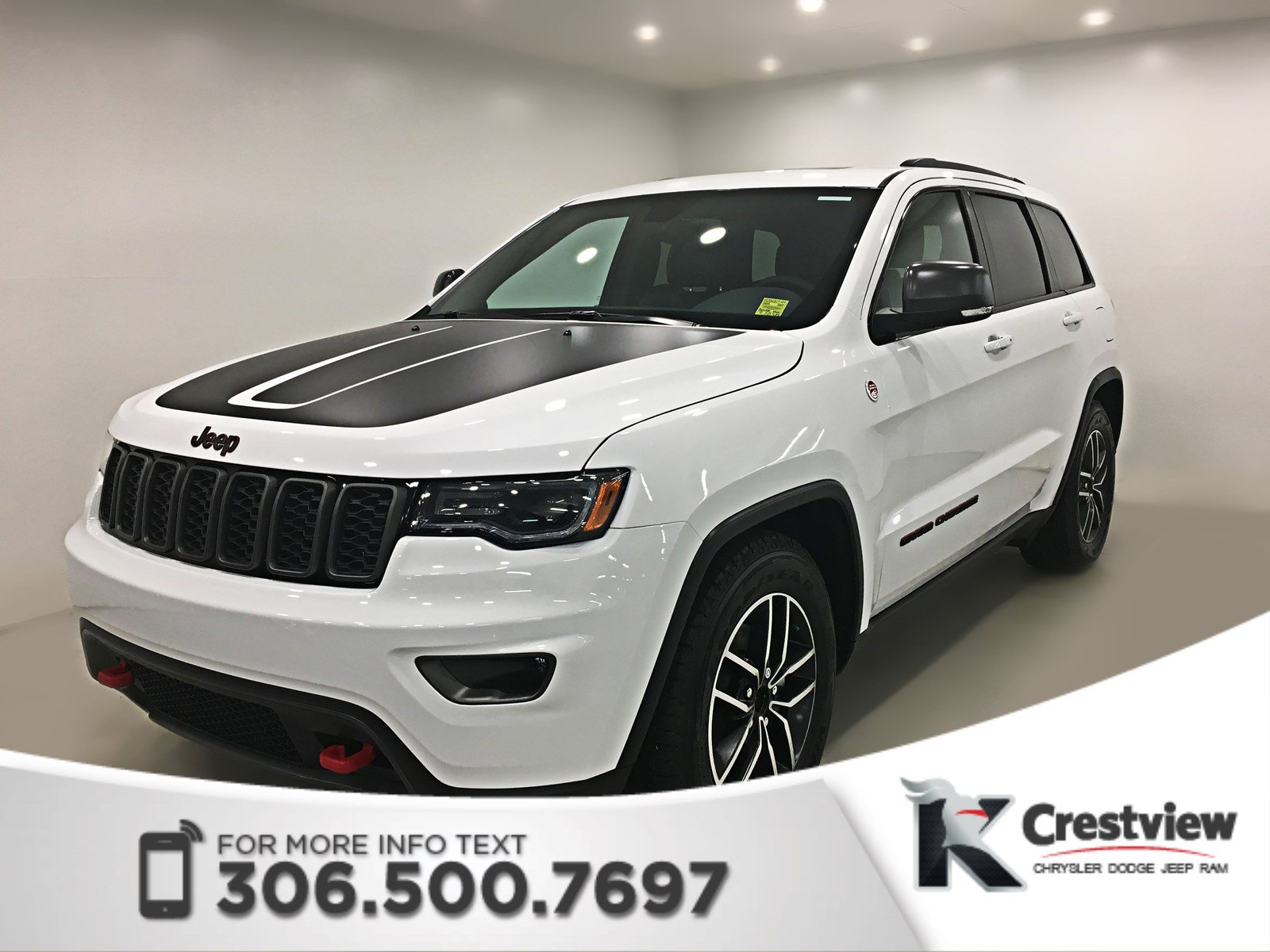 new 2018 jeep grand cherokee trailhawk v6 sunroof navigation