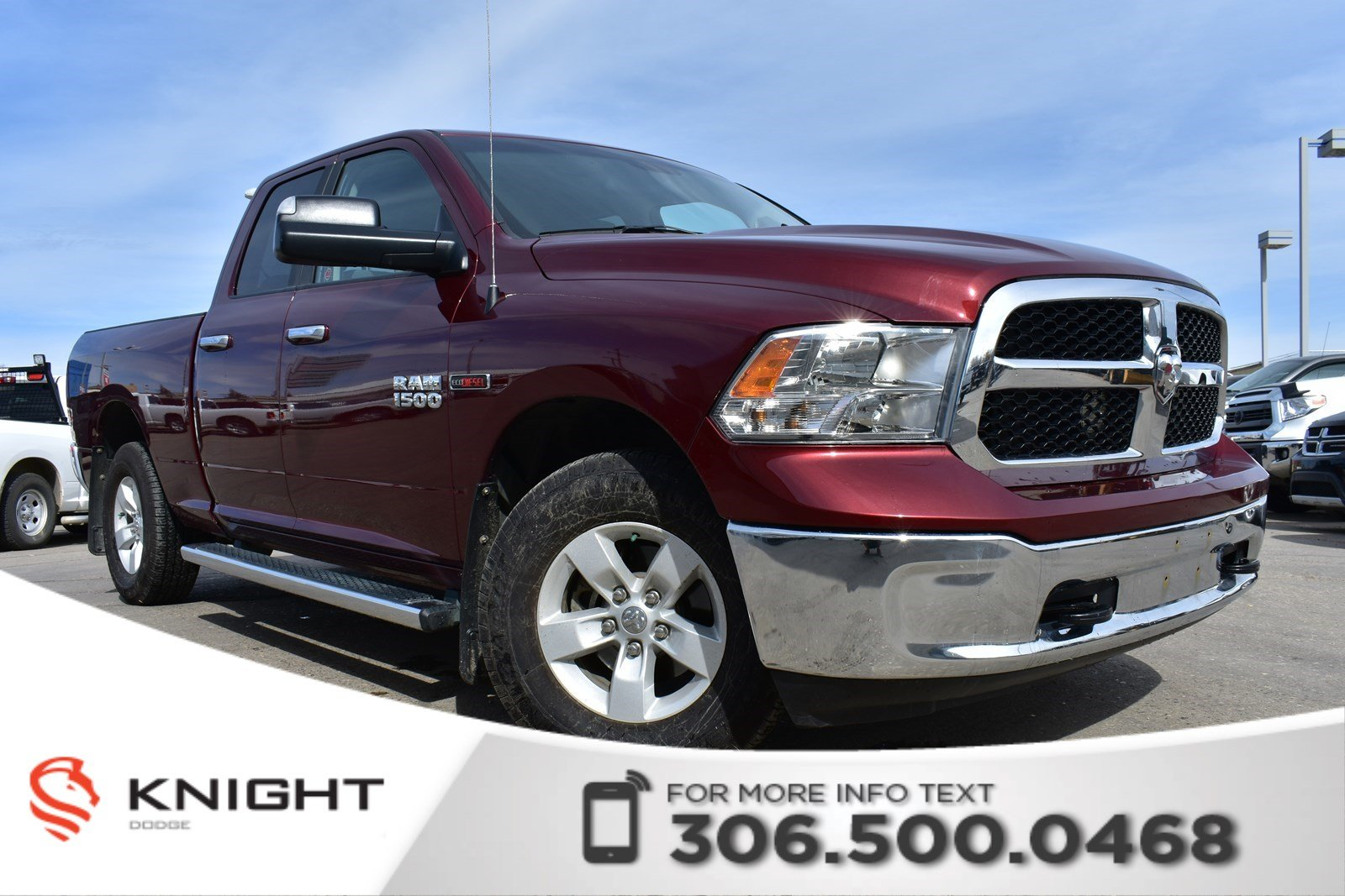 Pre Owned 2016 Ram 1500 Slt New Windshield Eco Sel Bluetooth