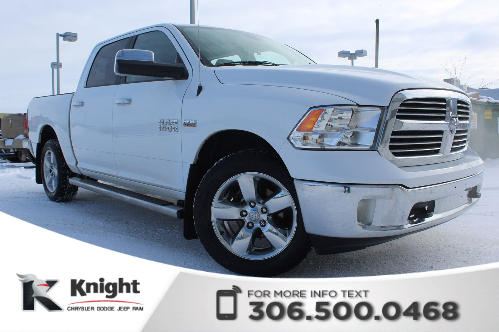 pre owned 2015 ram 1500 big horn low kms accident free bluetooth crew cab pickup in swift. Black Bedroom Furniture Sets. Home Design Ideas