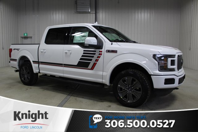 New 2018 Ford F 150 Lariat Sport Special Edition Crew Cab