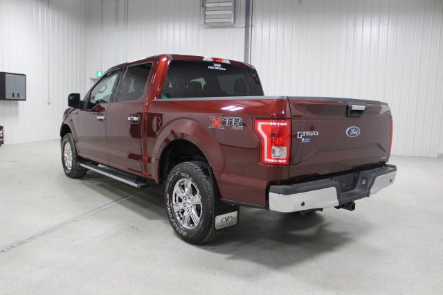 pre owned 2015 ford f 150 xlt xtr tow package rear camera crew cab pickup in moose jaw l5803. Black Bedroom Furniture Sets. Home Design Ideas