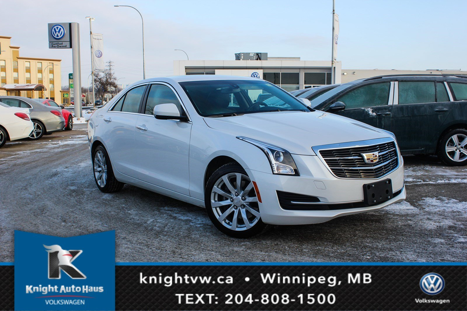 Pre Owned 2018 Cadillac Ats Sedan Awd W Luxury Pkg Bose Sound