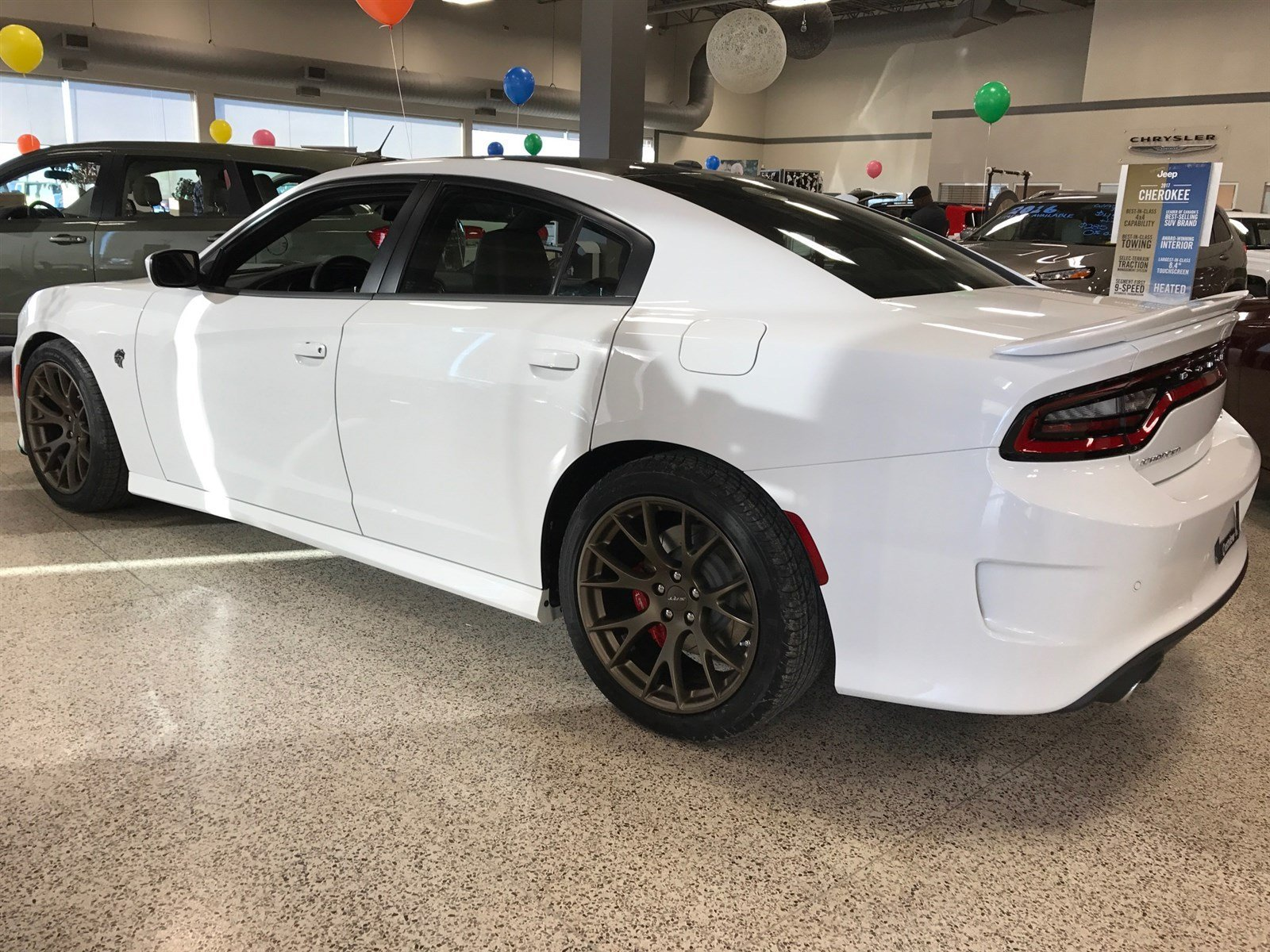 Pre Owned 2017 Dodge Charger SRT Hellcat 6 2L Hemi