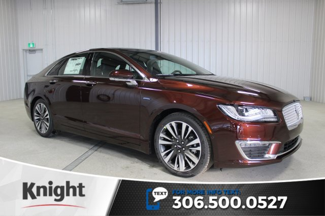 New 2019 Lincoln Mkz Reserve 4dr Car In Moose Jaw Lz9002 Knight