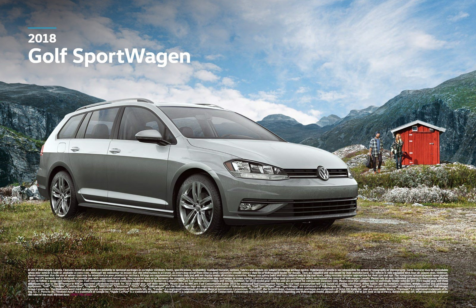 new 2018 volkswagen golf sportwagen comfortline awd w dsg panoramic sunroof app connect station. Black Bedroom Furniture Sets. Home Design Ideas