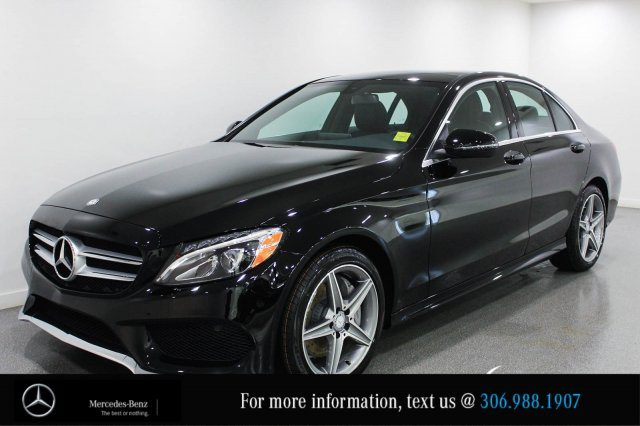 new 2017 mercedes benz c class c300 demo special save 8000 4dr car in regina 170062 knight. Black Bedroom Furniture Sets. Home Design Ideas
