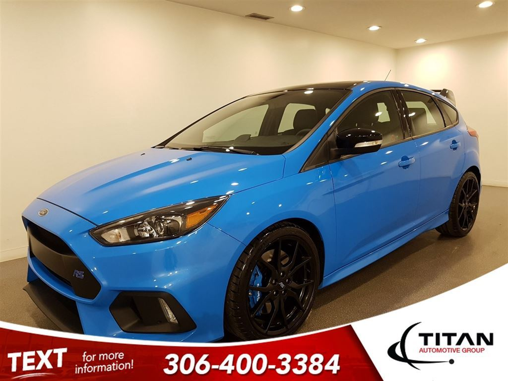 Pre owned 2018 ford focus local rs cam awd only 475 kms nav bluetooth