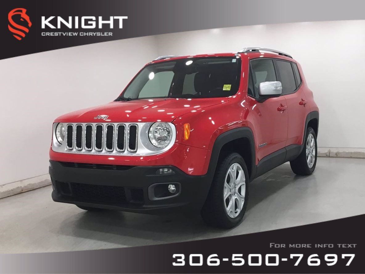 Certified Pre-Owned 2017 Jeep Renegade Limited 4x4 ...